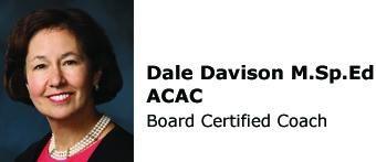Dale Davison M.Sp.Ed. ACAC Board Certified Coach