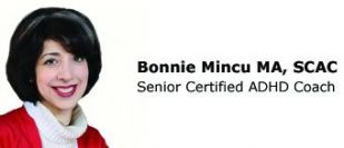 "Bonnie Mincu, MA, MBA, SCAC, ""Thrive with ADD"" Coach"