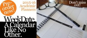 Pre-order 2015-16 Academic Planners Now!
