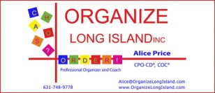 Alice Price CPO-CD® COC® Organize Long Island, Inc.