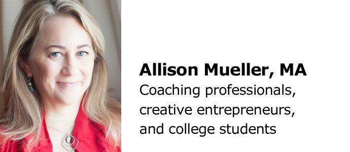Allison Mueller, MA - Big River Coaching, LLC