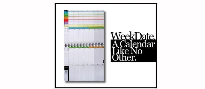 WeekDate Calendars