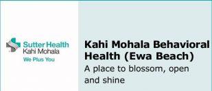Kahi Mohala Behavioral Health (Ewa Beach)