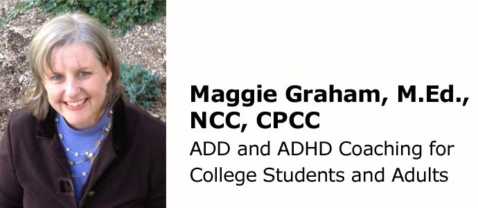 ADHD Coaching for College Students