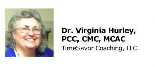 Dr. Virginia Hurley, PCC, CMC, MCAC