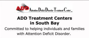 ADD Treatment Centers in South Bay