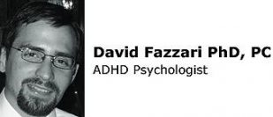 David Fazzari, PhD offering Cognitive Behavior Therapy for ADHD