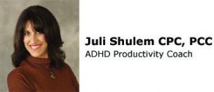 ADHD Productivity Coach: Juli Shulem PCC, CPC