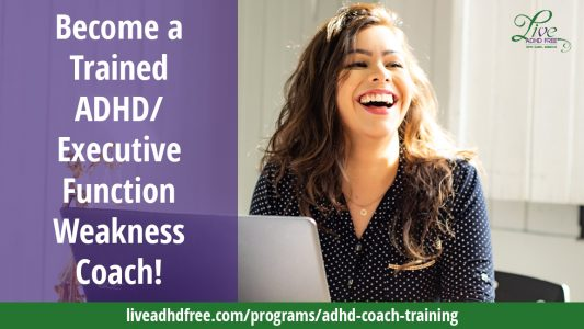 Live ADHD Free Coach Training