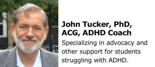 John Tucker PhD ADHD Coach