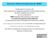 ADHD Research Study