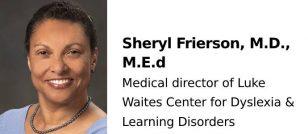 Sheryl Frierson, M.D., M.Ed.