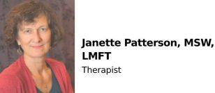 Janette Patterson, MSW, LMFT