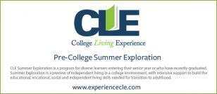 CLE Summer Exploration (College Living Experience)