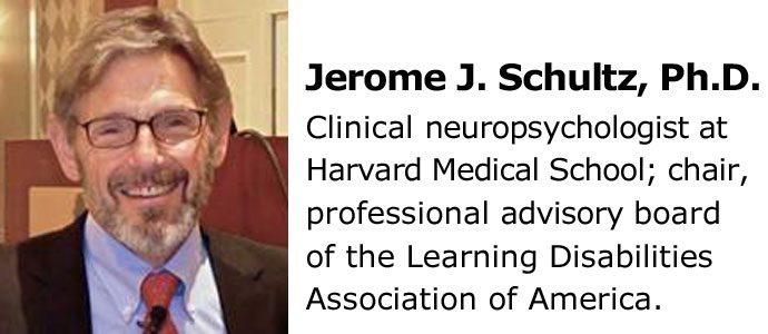 Jerome J. Schultz, Ph.D. Clinical Neuropsychologist