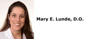 Mary E. Lunde, D.O.