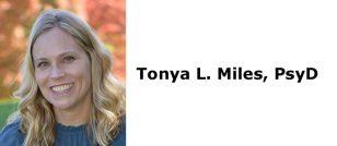 Tonya L. Miles, PsyD