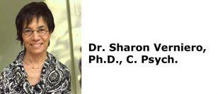 Dr. Sharon Verniero, Ph.D., C. Psych.