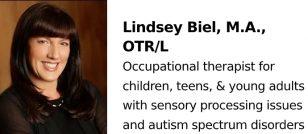 Lindsey Biel, M.A., OTR/L