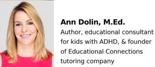 Ann Dolin, M.Ed.