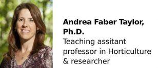 Andrea Faber Taylor, Ph.D